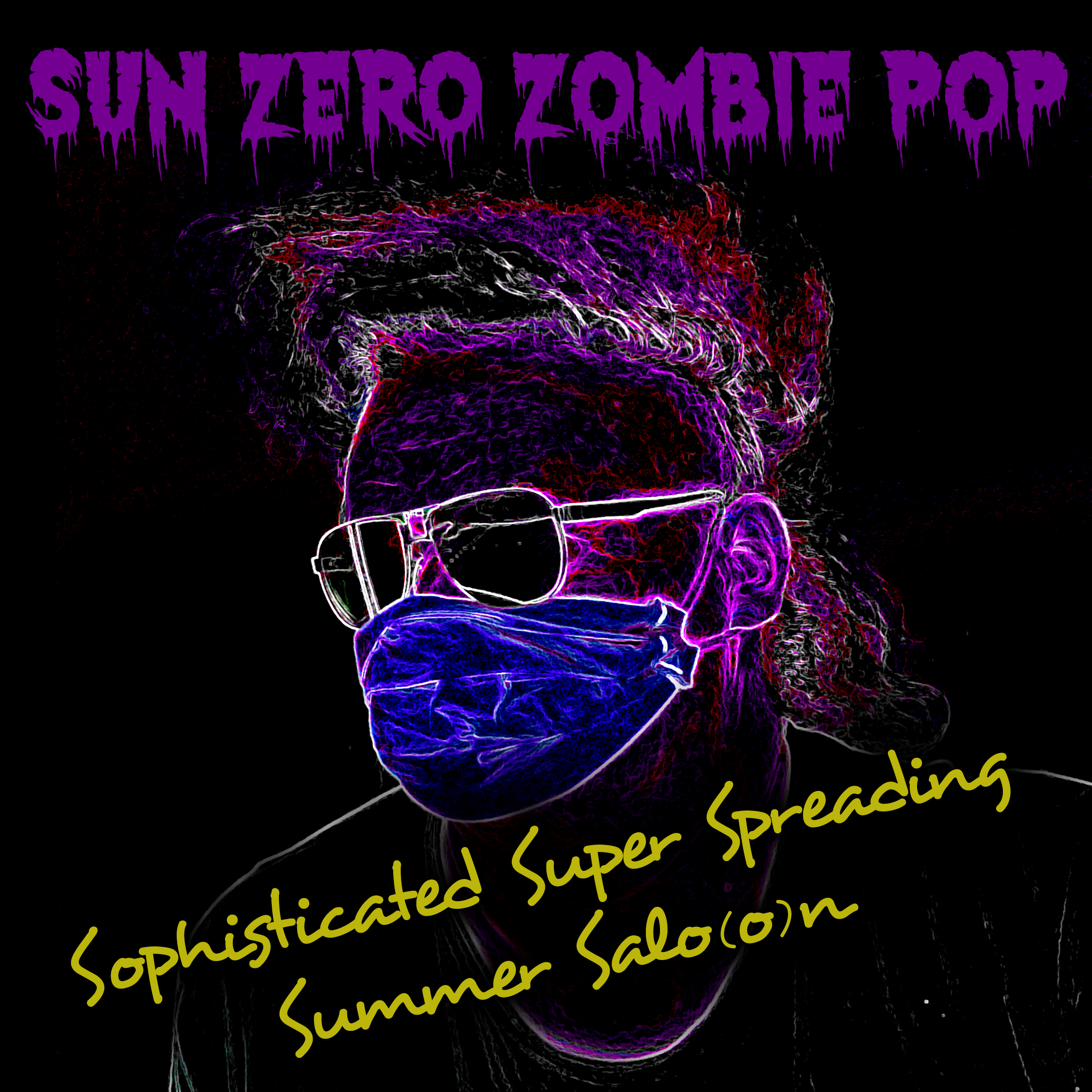 Album-Cover Sophisticated Super Spreading Summer Salo(o)n