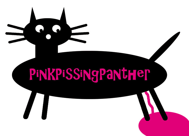 Pink Pissing Panther by Wolf D. Schreiber